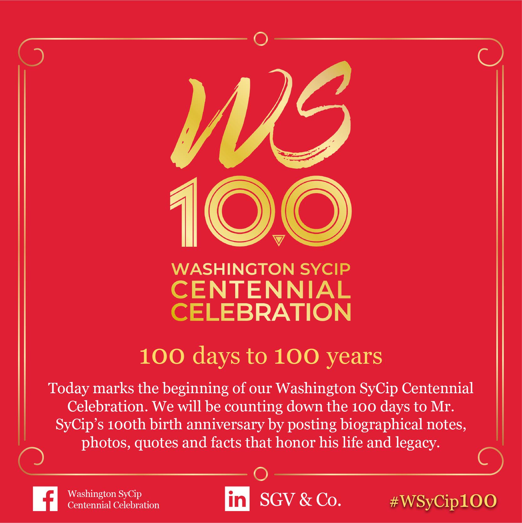 100 Days to 100 Years