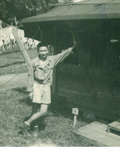 Wash in India, where he was a cryptographer during World War II.