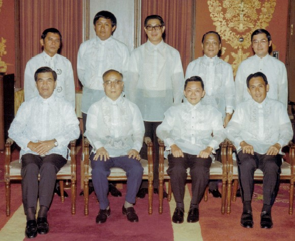 Wash as the Chairman of SGV Group with the Managing Partners of its Member Firms